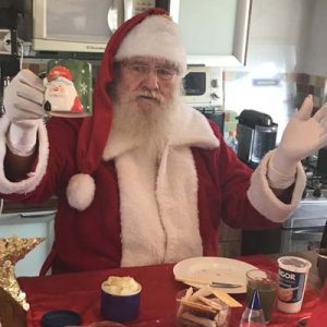 Cia do Bafafá Café da Manhã com Papai Noel