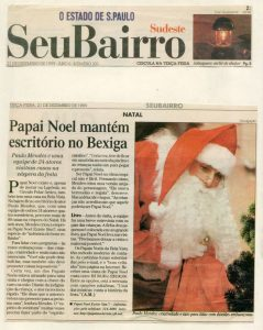 Cia do Bafafá - Papai Noel - O Estado de São Paulo