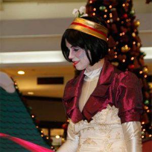 Cia do Bafafá Chegada do Papai Noel - Artista Circense