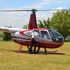 Cia do Bafafá Chegada do Papai Noel - Helicóptero