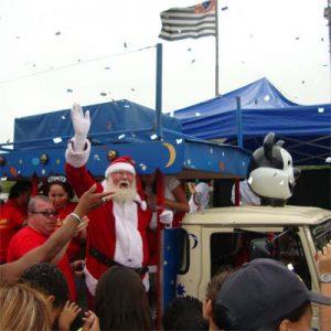 Cia do Bafafá Chegada do Papai Noel - Trenzinho