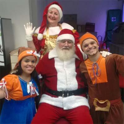 Cia do Bafafá Ajudante de Papai Noel Duendes