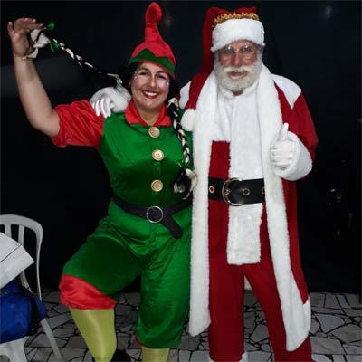 Cia do Bafafá Ajudante de Papai Noel Duendona