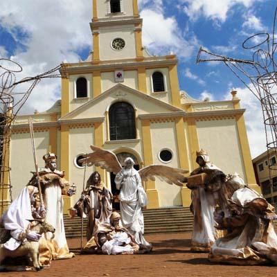 Cia do Bafafá espetáculo Natal - Presépio