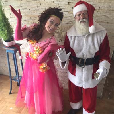 Cia do Bafafá Ajudante de Papai Noel Fada