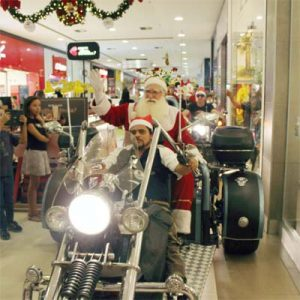 Cia do Bafafá Papai Noel Shopping Imperial