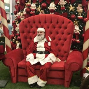 Cia do Bafafá Papai Noel Shopping Santa Cruz