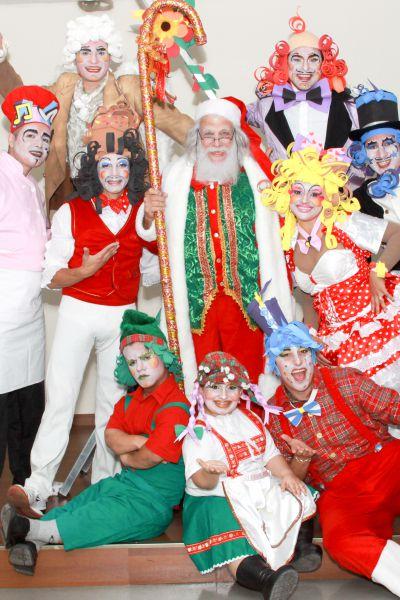 Cia do Bafafá Papai Noel Peça Teatro