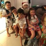 Cia do Bafafá Visita do Papai Noel