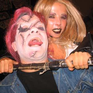 Cia do Bafafá Halloween Casal de Anões