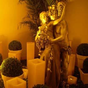 Cia do Bafafá Estátua Viva