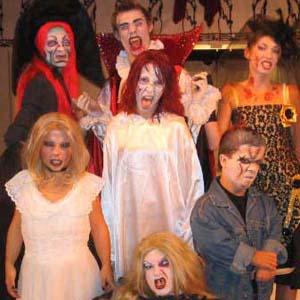 Cia do Bafafá Halloween Paparazzis Defuntos
