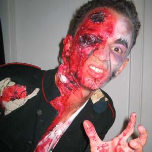 Cia do Bafafá Halloween Soldado Roy